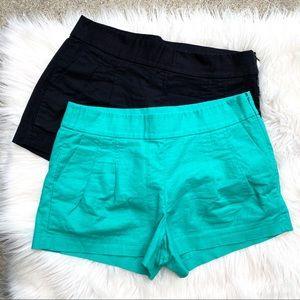 J crew pleated dress shorts bundle 4